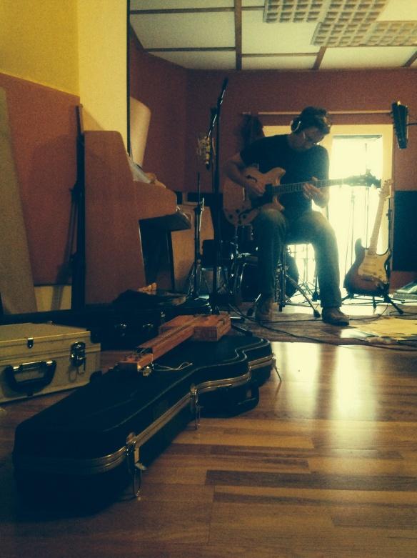 15/09/2013 en el tostadero recording studio. Barcelona