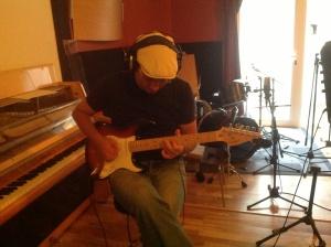 15/09/2013 en el Tostadero. Stratocaster.