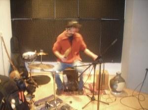 David registrando