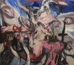 Paolo Dolzan (06/2014) cm160x200, acrilico su tela.