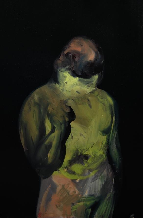 Paolo Dolzan, L'uomo di sabbia, 150x100cm, 2014
