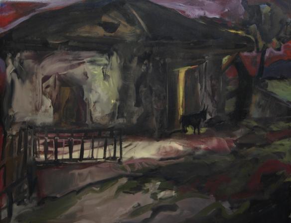 Il vecchio mulino, Dolzan, (cm154x200)