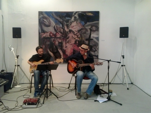 Con Michele Bazzanella al basso